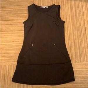 Black fleece lined tunic